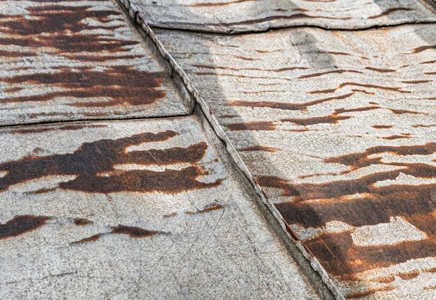Old rusty metallic surface