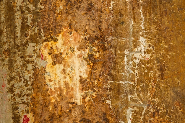 Old rusty surface can be used for background and texture