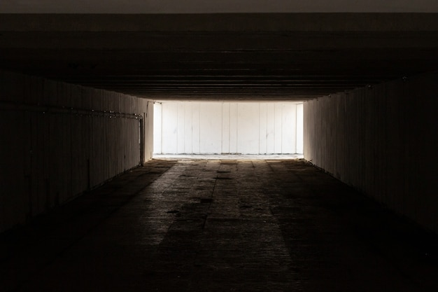 Old and scary underpass