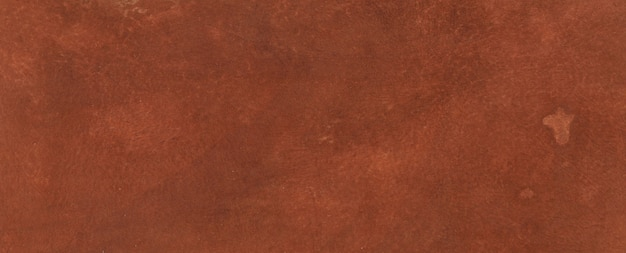 오래 된 긁힌 착용 갈색 가죽 배경 및 질감