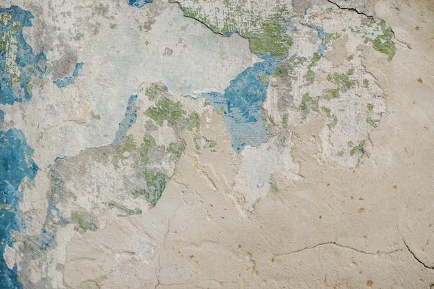 古いすり減った壁の背景テクスチャ