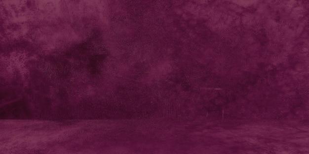 금이 간 보라색 콘크리트 스튜디오 벽 추상 그루지 배경이 있는 오래된 초라한 콘크리트 벽 질감...