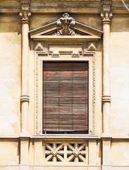 古いシチリアの窓
