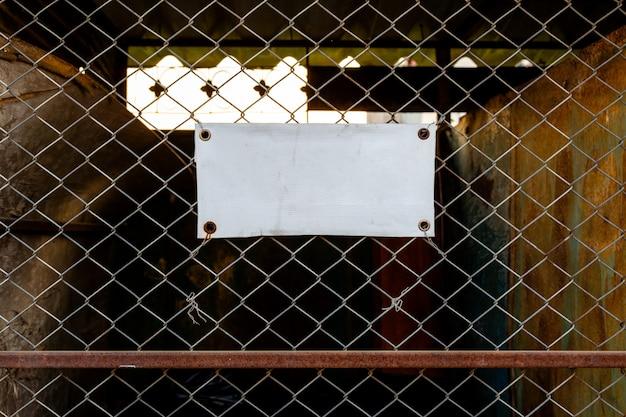 Old sign mockup