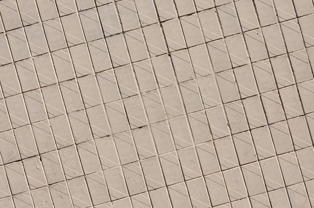 Old soviet beige wall tiles.
