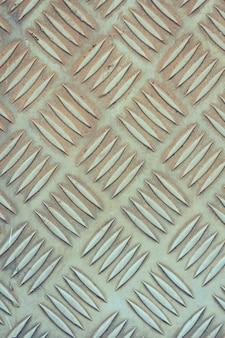 Old stainless steel floor plate texture
