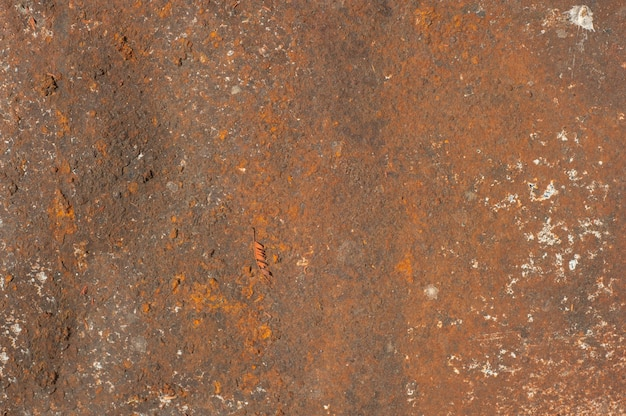 Old steel wall background