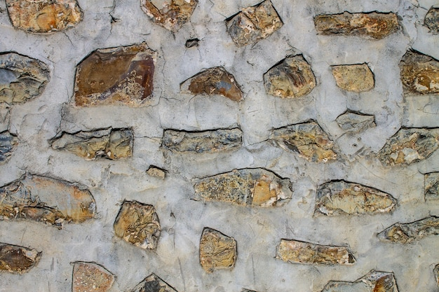 Old stone background, texture of ancient masonry