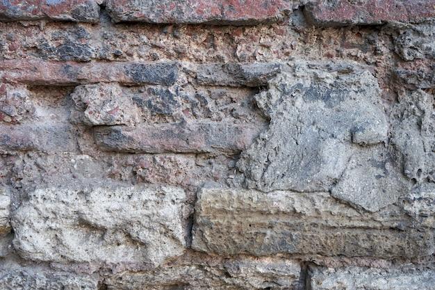 Old stone bricks wall texture.