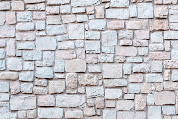 Старая каменная кладка фон каменная стена текстура и узор