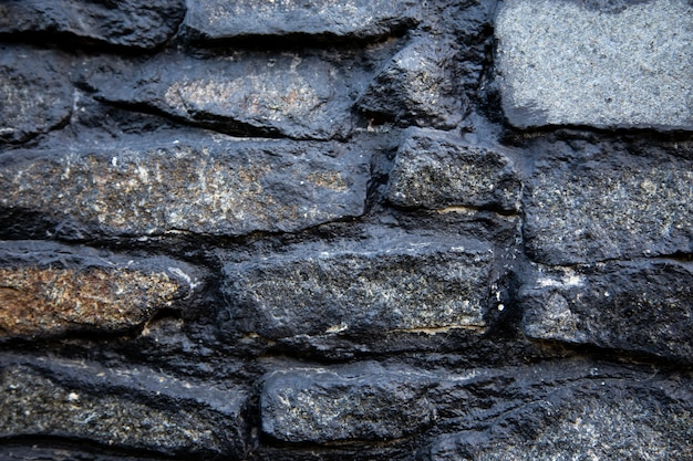 Old stone masonry. background texture,