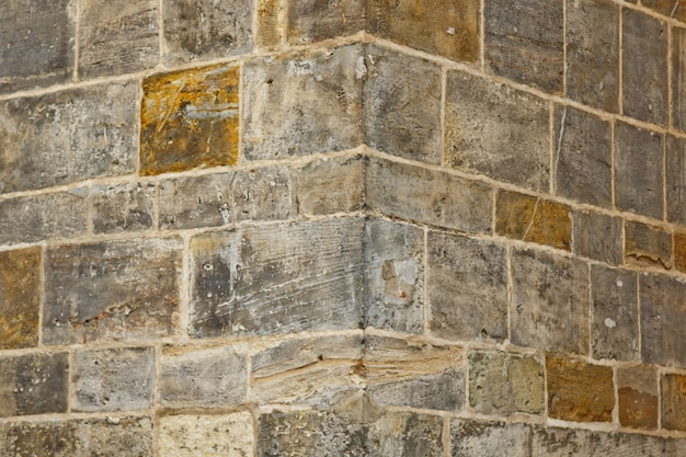 Old stone wall close up. background texture.