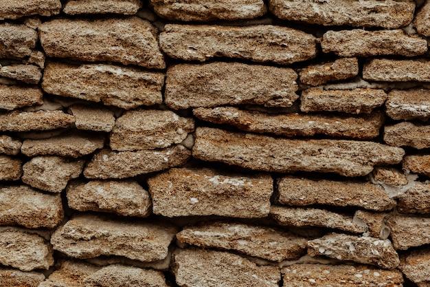 市内の古い石造り壁