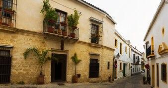 Old street in jerez de la frontera