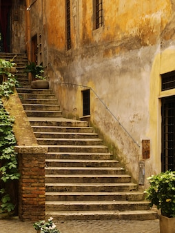Старые улицы рима