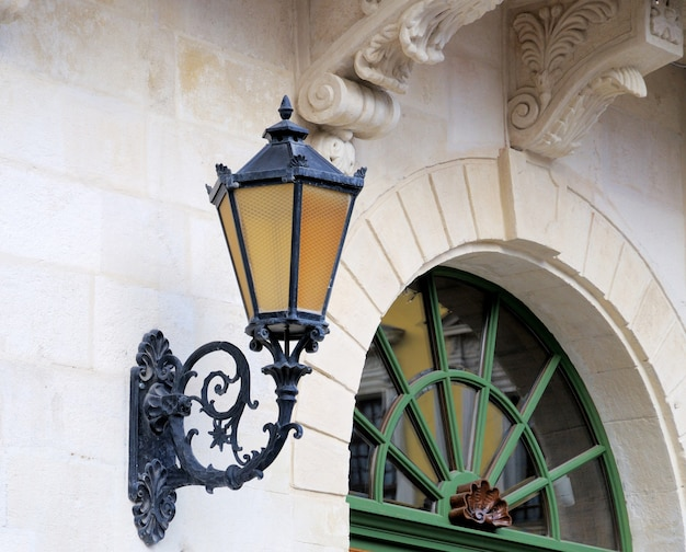 古いスタイルの街灯