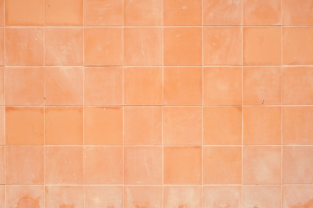 Old tile surface