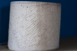 Old toilet paper