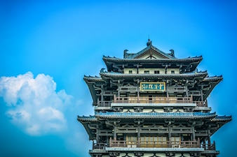 Old tower in china