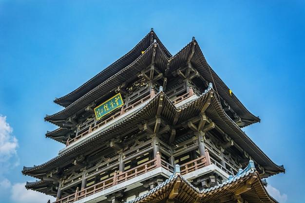 Старая башня в китае