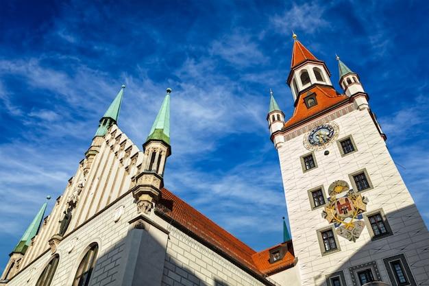 Старая ратуша altes rathaus, мюнхен
