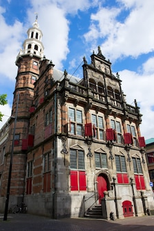 Старая ратуша в гааге, голландия