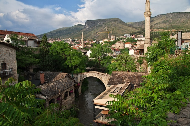 The old town mostar, bosnia and herzegovina
