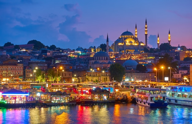 이스탄불의 구시가지 - fatih 지구 및 sã¼leymaniye mosque, 터키