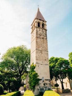 Старый город раскола хорватии внутри города старинная архитектура
