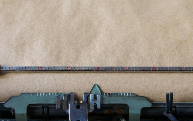 Old typewriter background