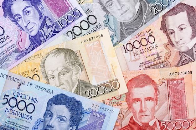 Старые венесуэльские деньги, бизнес-фон