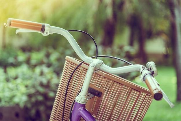 Old vintage bicycle