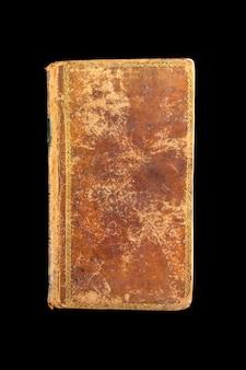 Старая старинная книга, изолированные на черном фоне
