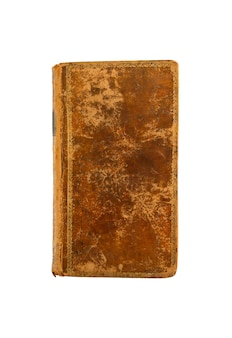 Старая старинная книга, изолированные на белом фоне