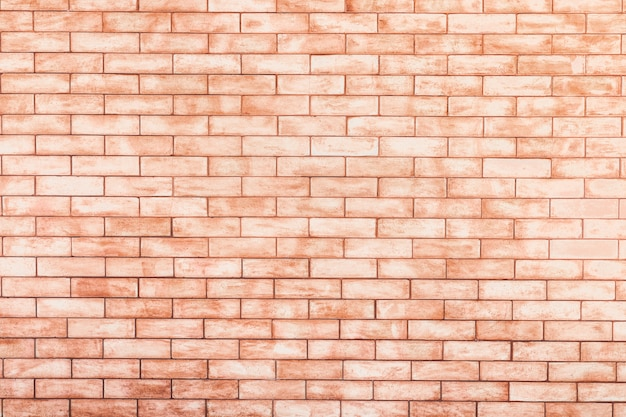 Old vintage brown brick wall texture