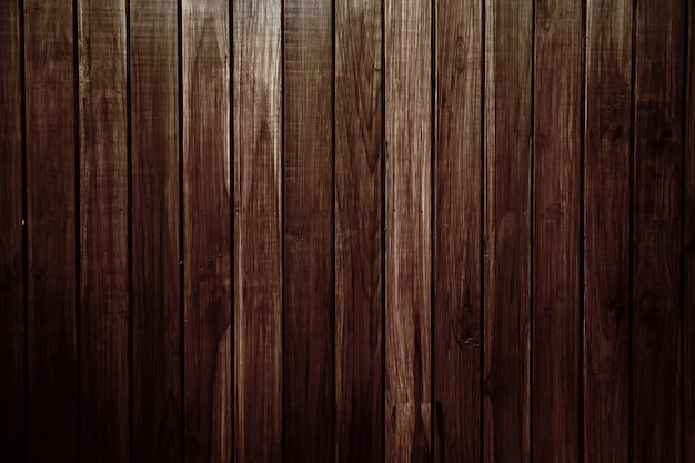 背景とテクスチャ画像の古いビンテージブラウン木製ラス壁クラッド。