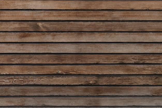 古いヴィンテージ茶色の木製テクスチャの背景をクローズアップ