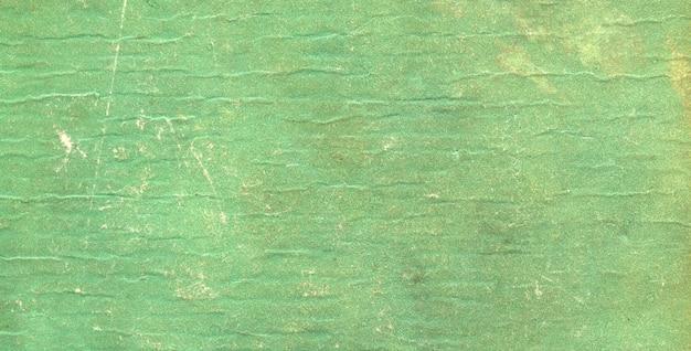 오래 된 빈티지 녹색 종이 질감 배경