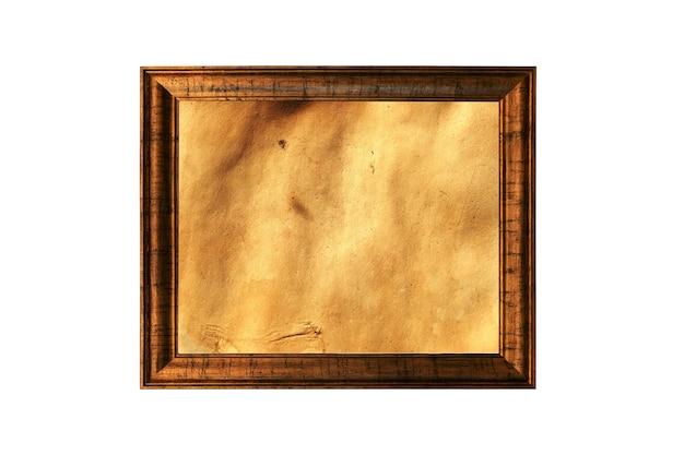 흰색 배경에 고립 된 오래 된 빈티지 그림