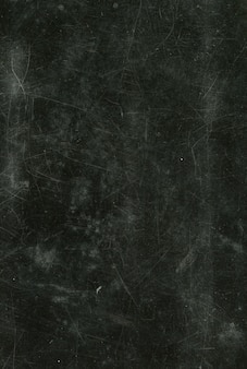 Old vintage texture of black matte scratched surface