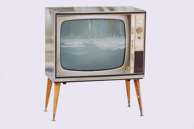 Старый винтажный телевизор