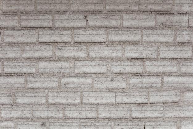 Old vintage white brick wall