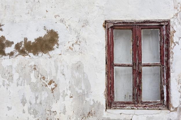 Старые винтажные окно и предпосылка для текста. крупный план.