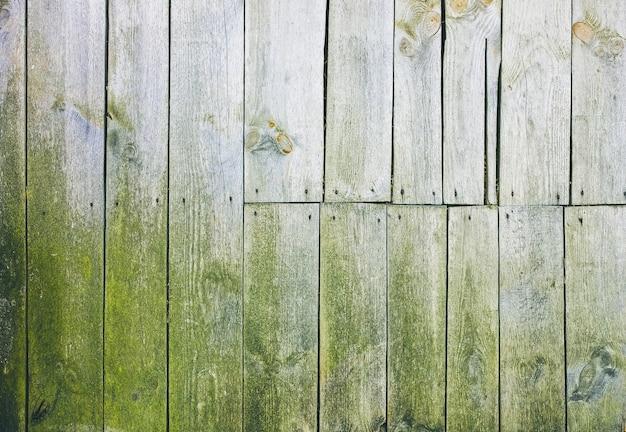 家の古いヴィンテージの木の板。灰色の木のテクスチャの背景。