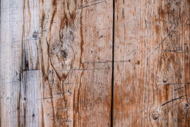 古いヴィンテージの木製の織り目加工の背景