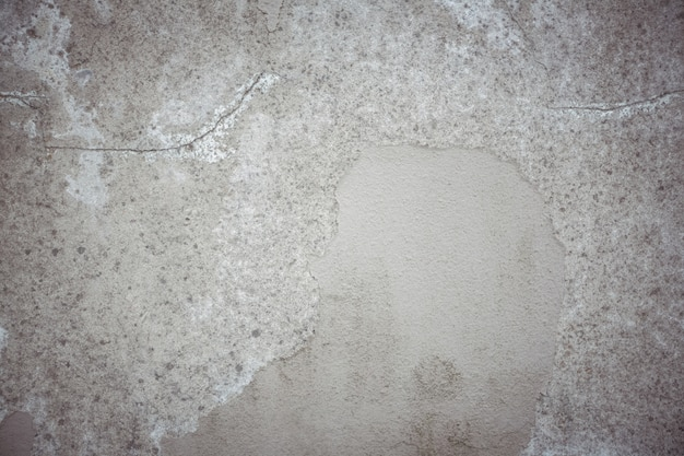 Old wall with peeled plaster background