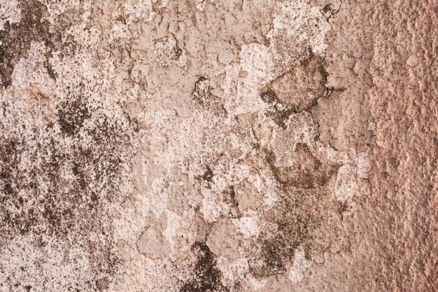 Старая стена с штукатуркой разбилась текстурой
