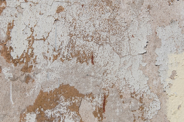 Old wall with plaster