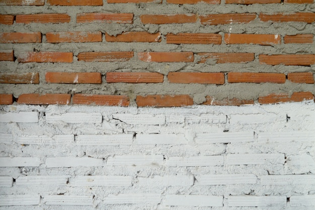Old walls are cracked