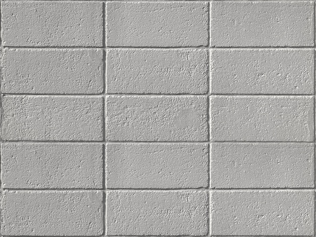 Old weathered cement brick block fence wall texture surface background.